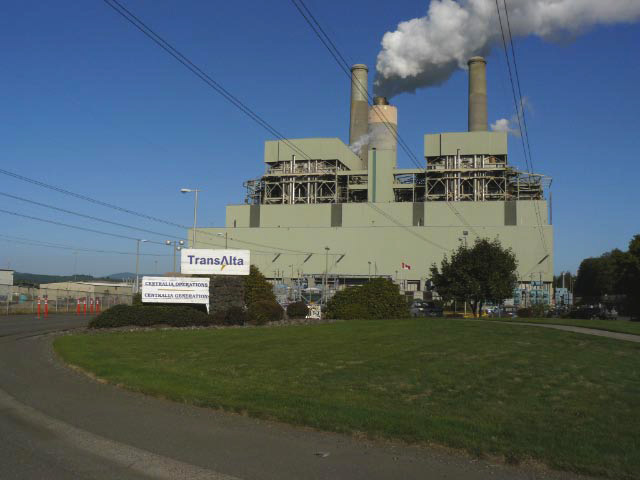 TransAlta Coal Plant, Centralia , WA <br> (image: Sierra Club)