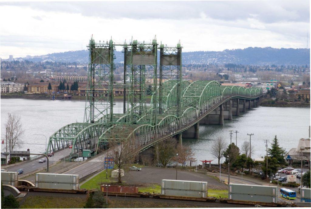 I-5 Interstate Bridge Over Columbia River