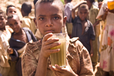 Photo of the Day: A child in Gobay Village, Ethiopia shows us... on Twitpic