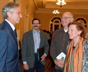 Robert F. Kennedy Jr. with Rosemere Neighborhood Association Officers at Riverkeeper Fundraiser May 2015